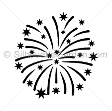 fireworks clipart black and white transparent. Wonderful White Graphic Firework Clipart Black And White Fireworks Silhouette Clip Art Inside Clipart Black And White Transparent G