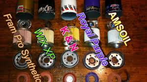 Kn Oil Filter Chart Choosing The Best Oil Filter Fram Vs Wix Vs K N Vs Others