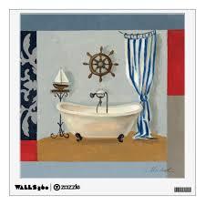 nautical bathroom wall decal zazzle com