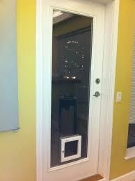 exterior back door with dog door. image of: small-exterior-door-with-built-in-pet exterior back door with dog