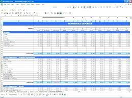 sample spreadsheet excel sample household budget spreadsheet luxury monthly expenses