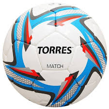 Купить Футбольный <b>мяч TORRES</b> Match белый/серебристый ...
