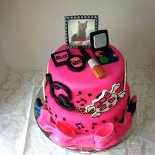 Tween Birthday Cakes Girl Teenager Cake Ideas Enager Decorating