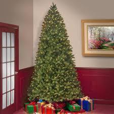 Interior  10 Feet Christmas Tree Tinsel Christmas Tree 9 Foot Sale On Artificial Prelit Christmas Trees