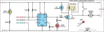 circuit diagram of water level controller ireleast info circuit diagram of water level controller the wiring diagram wiring circuit