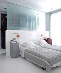 walk through closet behind bed for modern home trends4us com