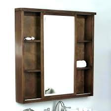 ideas attractive corner bathroom vanity designs with mirrored door medicine cabinet over single handle faucet home