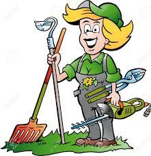 Jardinier Dessin Jardinier Heureux Avec Cartoon De Carottel