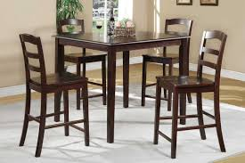 simple traditional antique black wooden chairs dining sets with quadrangle wooden dining room table also modern