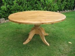 fresh round pine kitchen table 800x600