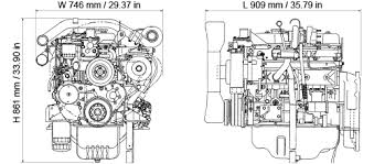 isuzu industrial diesel engine appearance diagrams shown not reflect actual engine configuration final dimensions are dependent on selected options