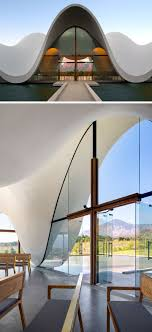 Modern Chapel Design The Sculptural Design Of This Chapel Emulates The Mountains