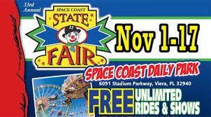 Space Coast Daily Park Seating Chart 33rd Annual Space Coast State Fair Open Today Until 10 P M