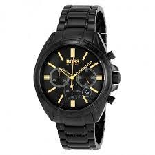 hugo boss chronograph black dial black ion plated men s watch hugo boss chronograph black dial black ion plated men s watch 1513277