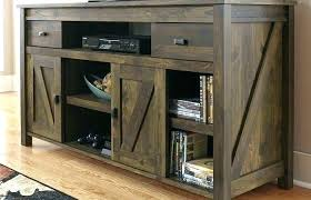 build your own farmhouse tv stand rustic media console cabinet table media room decoration medium size