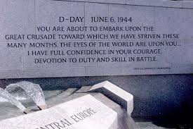D Day Quotes Simple Defensegov News Article Inspiring Words Grace World War II