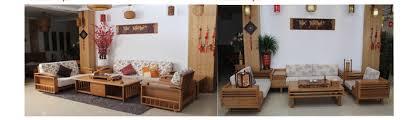modern bamboo living room sofa set bamboo modern furniture