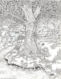 Small Picture Forest Trees Coloring Pages Coloring Coloring Pages
