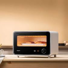 Youpin TOKIT Mini Thông Minh Điện 12L Nướng Đối Lưu Lò Nướng Không Khí Nóng  Lên Men Lò Nướng Mini Lò Nướng Tự Động Làm Bánh|Điều khiển từ xa thông  minh