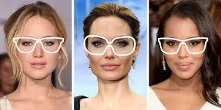 choosing eyegles based on face shape