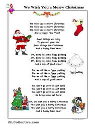 Christmas Song We Wish You a Merry Christmas | Sunday school ...