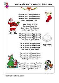 Christmas Song We Wish You a Merry Christmas | Sunday school ...