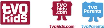 tvo kids tvo pas logo brand lettering design