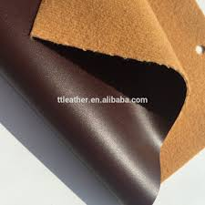 crazy horse leather pu material with crazy horse color change effect for making shoes and boots
