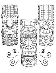 Mask Coloring Page Coloring Pages Summer Mask Coloring Pages And