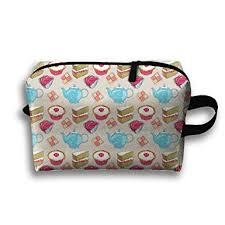 travel bags afternoon tea portable storage bag clutch wallets cosmetic bags organizer zipper hangbag carry case