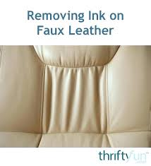 how to remove ink from leather car seat do you stain blue remover
