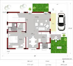 Plan Of House Even Foot 100m2
