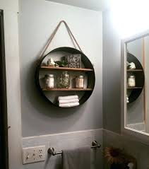 bathroom wall towel storage shelves stand alone behind toilet over rack ideas above stora