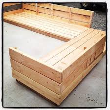 diy wood furniture projects. one arm outdoor sectional piece ana white and furniture plans diy wood projects