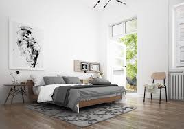 Scan Design Bedroom Furniture Scandinavian Bedroom Design Dominant With White Color Theme