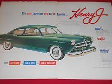 1950 henry j 1950 henry j sedan kaiser frazer dealer 2 pg ad ship drag race rat