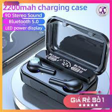 Tai Nghe Bluetooth True Wireless F9 PRO MAX Chống nước và làm sạc dự phòng  cho điện thoại giảm chỉ còn 150,000 đ
