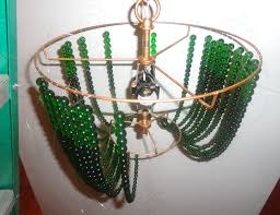 Diy Bead Chandelier Home Made Ceiling Lamps Floor Lamps Ceiling Lamps Teen Lamps The