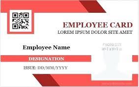 Free Id Badge Template Employee Id Badge Template Henrytang Co