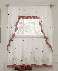 Ladybug Kitchen Curtains