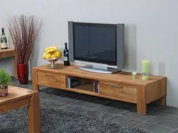 Tv Meubel Mark Eiken Met Open Vak En 2 Lades Eiken Tv Meubel Modern