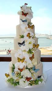 Indian Weddings Inspirations Butterfly Wedding Cake Repinned By