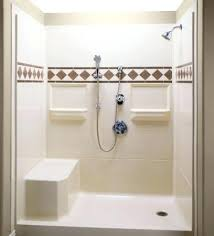 walk in shower kits bathroom bath shower kits with seat stall throughout kit ideas walk shower kits