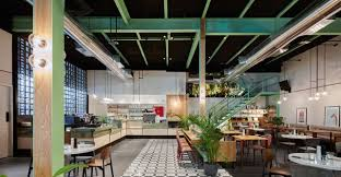 Bistro Design Pictures H2r Design Creates Retro Dining And Co Working Concept In