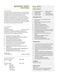 retail general manager resume template examples 51