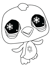 Cute Baby Penguin Coloring Pages Cute Baby Penguin Coloring Pages