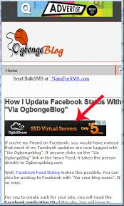 Blogger Mobile Template Add Adsense Below Post Title Of Mobile Blogger Templates Ogbongeblog