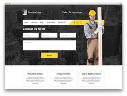 Construction Website Templates Adorable 48 Best Construction Company WordPress Themes 48 Colorlib