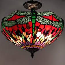 warehouse style lighting. Image Of: Best Tiffany Ceiling Light Design Warehouse Style Lighting