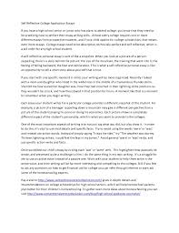 college essay format format for college essaycollege view larger self reflective college application essays